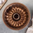 Форма для выпечки Papilla Ромовый 24 см, цвет МИКС - Фото 3