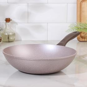 Сковорода Вок Papilla Wilma cappuccino granite, d=28 см