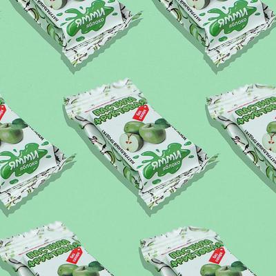 Пастила фруктовая без сахара «Ямми», яблоко, 500 г - Фото 1