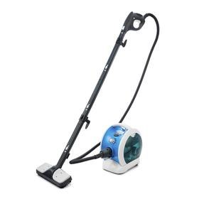 Пароочиститель Kitfort КТ-952, 1500 Вт, 1 л, нагрев 5-7 мин, шнур 4.8 м, бело-голубой Ош