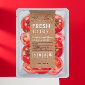 Тканевая маска для лица TONYMOLYс Fresh To Go экстрактом томата, 22 г