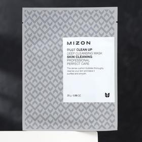 Тканевая маска MIZON Dust Clean Up Deep Cleansing Mask, очищающая, 25 г