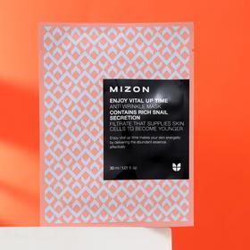 Тканевая маска листовая для лица MIZON Enjoy Vital Up Time Anti Wrinkle Mask антивозрастная, 30 мл