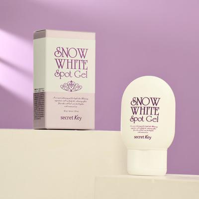 Универсальный осветляющий гель Secret Key Snow White для лица и тела, 65 г - Фото 1