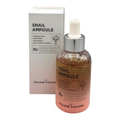Сыворотка для лица VILLAGE 11 FACTORY с муцином улитки Snail, 50 мл - Фото 1