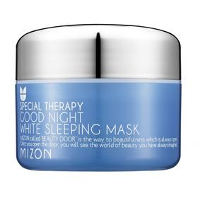 Маска для лица MIZON Good Night White Sleeping Mask ночная, отбеливающая, 80 г