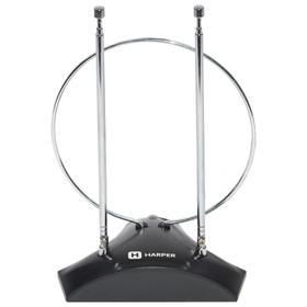 Антенна HARPER ADVB-2010, комнатная, пассивная, 7 дБ, 1.35м, DVB-T, DVB-T2, цифровая Ош