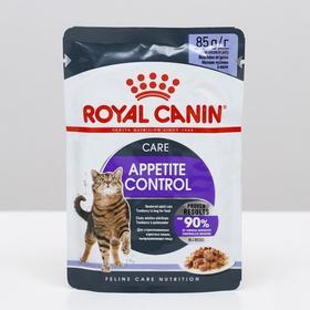 Влажный корм RC Appetite Control Care  для кошек, желе, 85 г