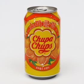 Газированный напиток Chupa Chups «Апельсин», 345 мл