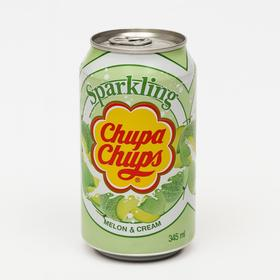 Газированный напиток Chupa Chups «Дыня крем», 345 мл