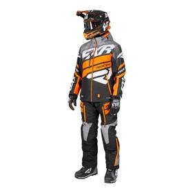 Костюм FXR Boost без утеплителя, размер2XL, чёрный, серый, оранжевый Ош