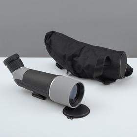 Телескоп настольный 20 кратного увеличения, серо-черный корпус Ош