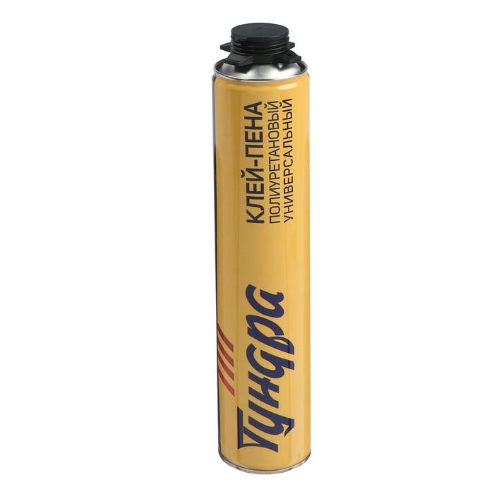 купить Клей-пена ТUNDRA, полиуретановый, универсальный, белый, 1000 мл