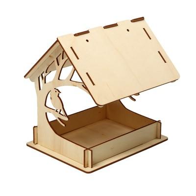 Кормушка для птиц «Птица на дереве», 15 × 19 × 17 см - Фото 1