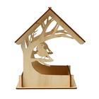 Кормушка для птиц «Птица на дереве», 15 × 19 × 17 см - Фото 3