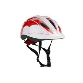 Шлем детский, размер S (обхват головы 48-52 см), цвет красный Ош