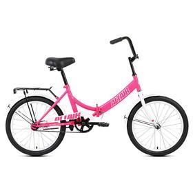 Велосипед 20' Altair City,  2021, цвет розовый/белый, размер 14' Ош
