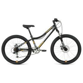 Велосипед 24' Forward Titan 2.2 disc, 2021, цвет черный/оранжевый, размер 12' Ош