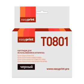 Картридж EasyPrint IE-T0801 (C13T08014011/T0801/Stylus Photo P50/PX660) для Epson, черный