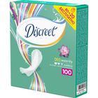 DISCREET Женские гигиенические прокладки на каждый день Deo Water Lily Multiform 80 шт +20 ш - Фото 2