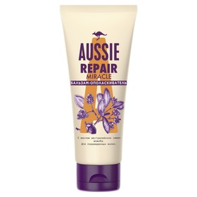 Бальзам-ополаскиватель Aussie Repair Miracle, для повреждённых волос, 200 мл