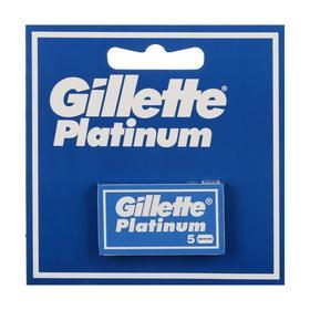 Лезвия для бритья GillettePlatinum, 5 шт.