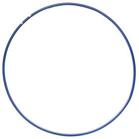 Обруч гимнастический, стальной, d=90 см, 900 г, цвет синий Ош