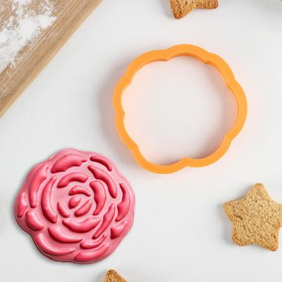 Форма для вырезания печенья Lubimova «Пион» - Фото 1
