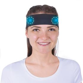 Бандаж на голову с аппликаторами биомагнитными медицинскими - 'Крейт' А150 №2 Ош