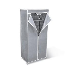 Вешалка-гардероб с чехлом, 700x440x1550,серый Ош