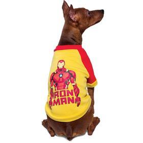 """Толстовка для собак Triol Marvel """"Железный человек"""", размер XS (ДС 20 см)"""