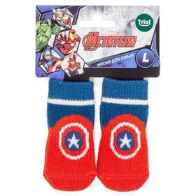 Носки для собак Triol Marvel 'Человек-паук', размер L (9 х 3,5 х 0,1 см) Ош