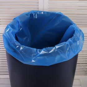 Мешок, вкладыш в бочку, 160 литров, 78 × 112 см, 100 мкм, обработка от цветения воды