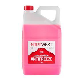 Антифриз Nordwest красный, 5 кг Ош