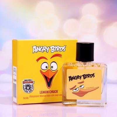 Душистая вода для детей Angry Birds Lemon Chuck «Чак лимон», 50 мл - Фото 1