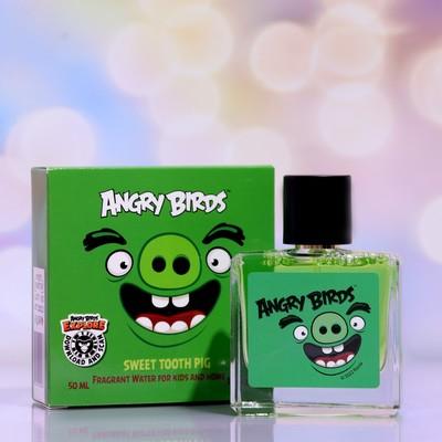 Душистая вода для детей Angry Birds Sweet tooth Pig «Свинтус сладкоежка», 50 мл - Фото 1