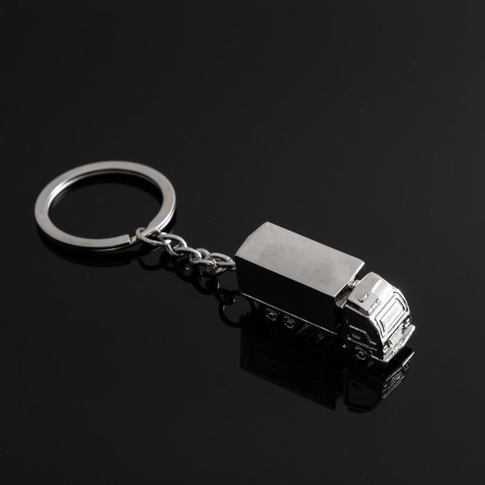 """Брелок для ключей Cartage, """"Грузовик"""", серебро"""