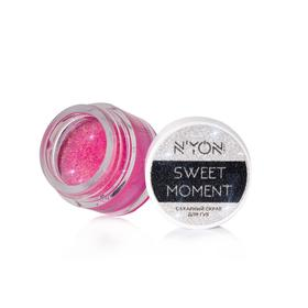 Скраб для губ N'YON SWEET MOMENT, вид 1 розовый неон