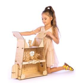 Конструктор «Домик котят» средний, лицензия
