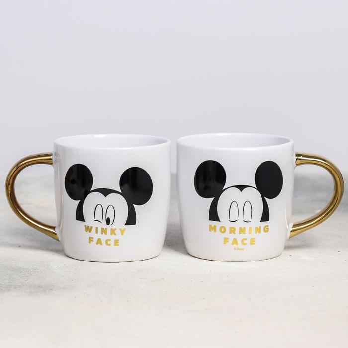 "Кружка ""Mickey Mouse"", Микки Маус, гальваника 300 мл"