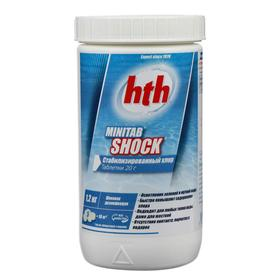 Быстрый стабилиз.хлор в табл. hth MINITAB SHOCK, 1,2 кг