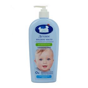 Детское жидкое мыло «Наша мама» для чувствительной кожи с ромашкой и чистотелом, 400 мл