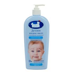 Детское жидкое мыло «Наша мама» для нормальной кожи с ромашкой и календулой, 400 мл