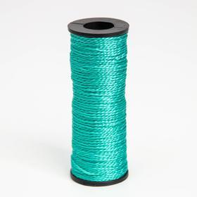 Нить 50 м, d=1 мм, цвет зелёный Ош