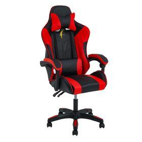 Кресло игровое SL™ TITANUS YS-909, чёрно-красное