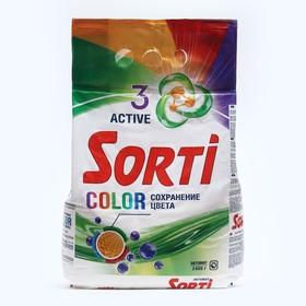 Стиральный порошок SORTI Color Автомат м/у 2400г