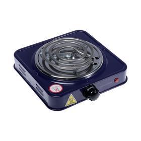 """Плитка электрическая HOMESTAR HS-1103, 1000 Вт, 1 конфорка, цвет """"сапфир"""""""