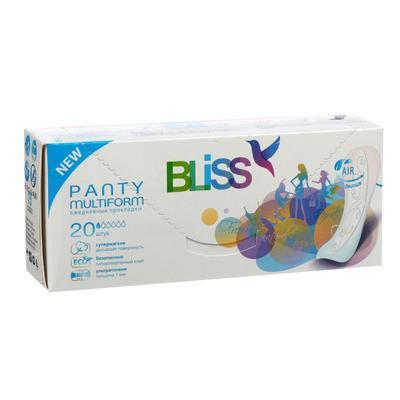 """Прокладки ежедневные """"Bliss"""" Panty Multiform, 20 шт. - Фото 1"""
