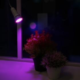 Светодиодная лампа для растений Luazon Lighting, 4,5 Вт, E27, 220В Ош