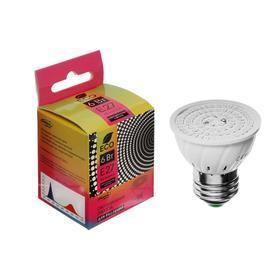 Светодиодная лампа для растений Luazon Lighting, 6 Вт, E27, 220В Ош